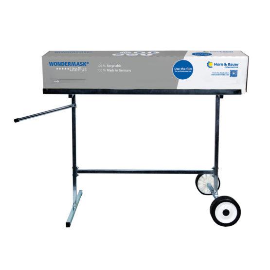 Mobiler Abrollständer  für Spenderbox Lackierschutz