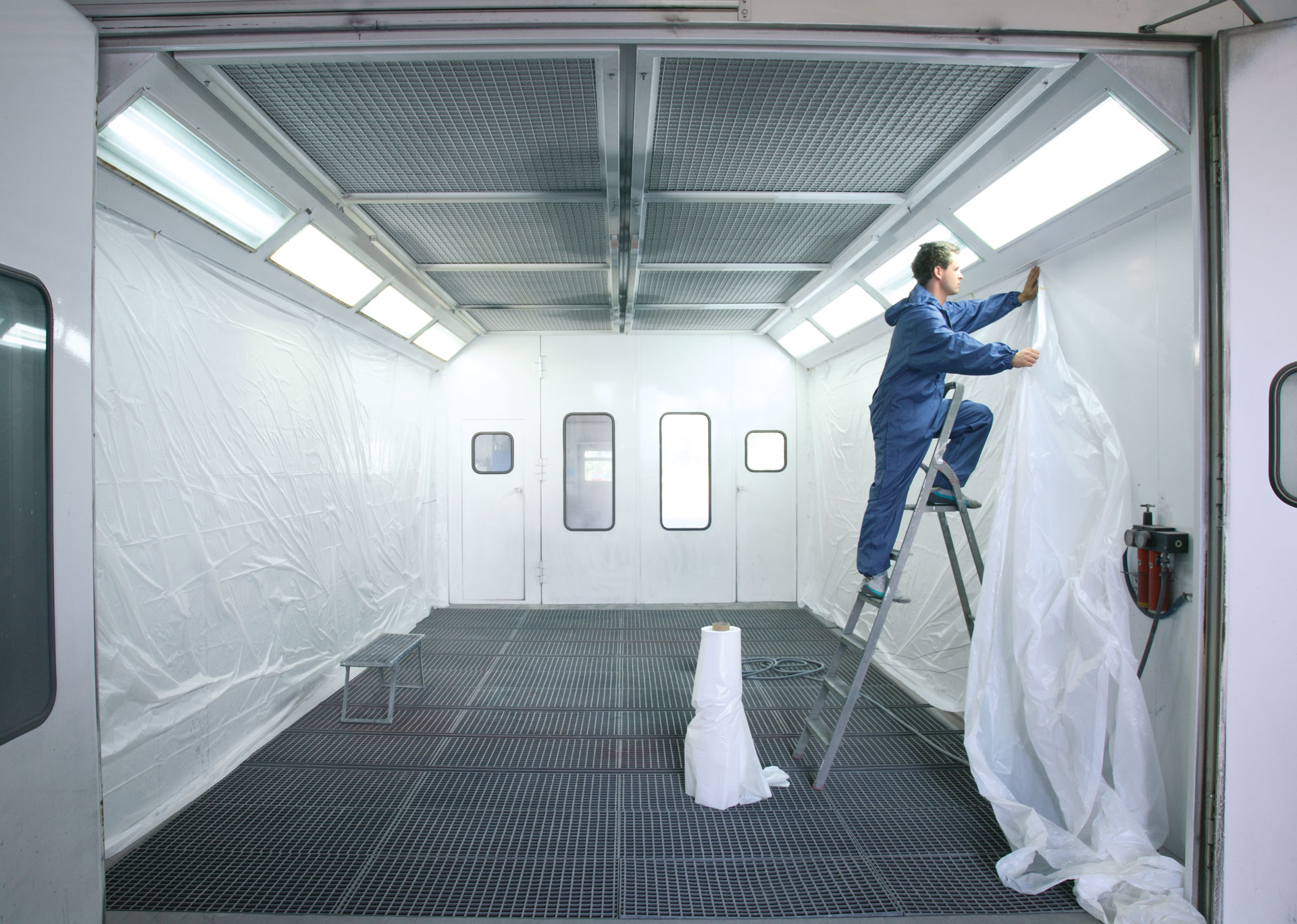 Spray Booth Lining Film Better Protection Com